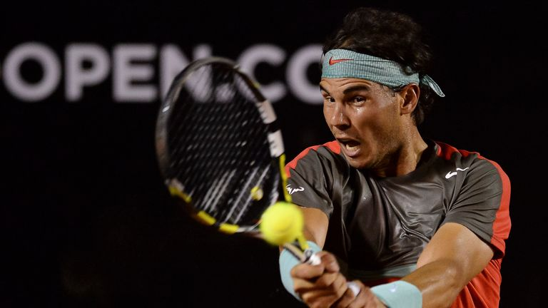 Rafael Nadal wasted little time in beating Albert Montanes