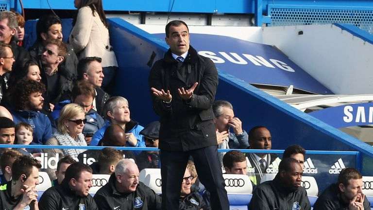 Roberto Martinez: Proud of Everton's performance