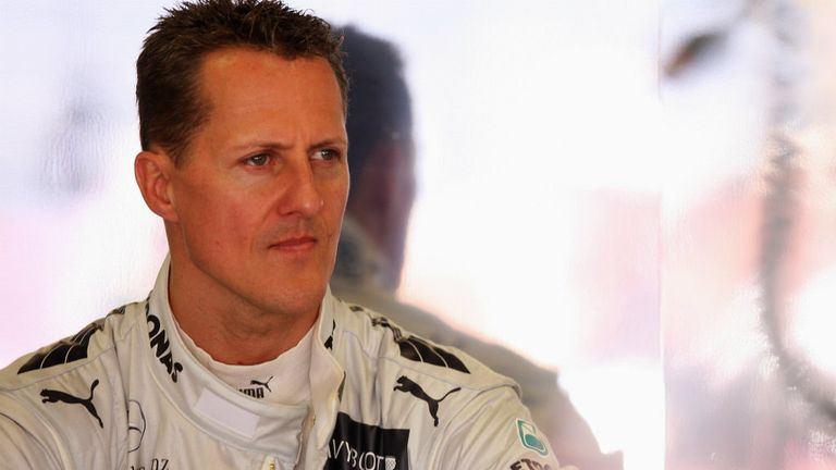 Michael Schumacher: 'Slowly improving' says wife