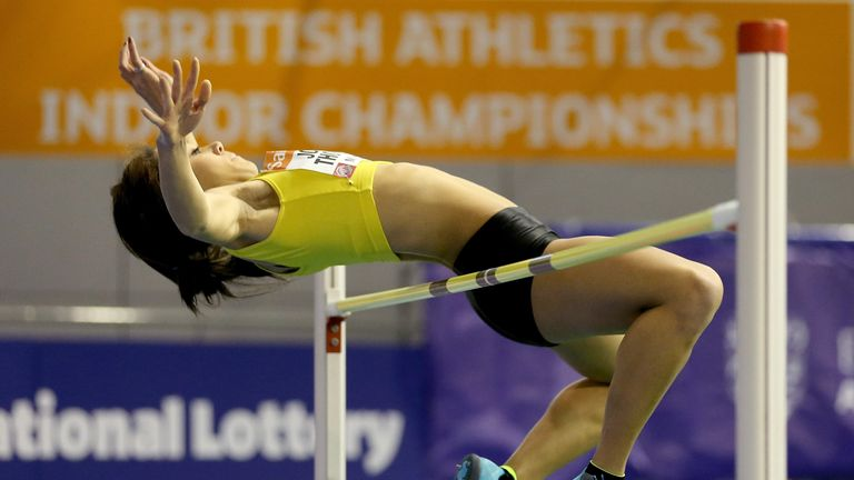 Katarina Johnson-Thompson: Smashed her own personal best to win the high jump in a British record time