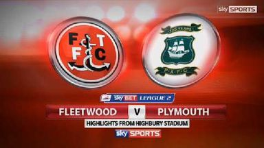 Fleetwood 0-4 Plymouth