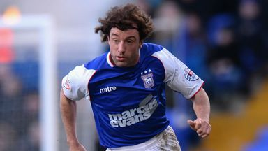 Stephen Hunt: Enjoying his time at Portman Road