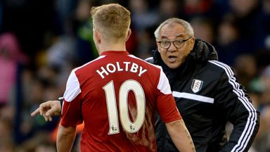 Lewis Holtby: Feels criticism of Felix Magath has been overly harsh