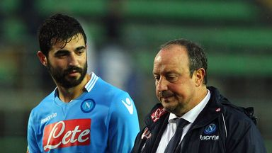 Rafael Benitez: Thinks Roma are favourites
