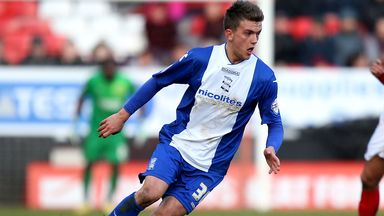Emyr Huws in action against Charlton earlier this month