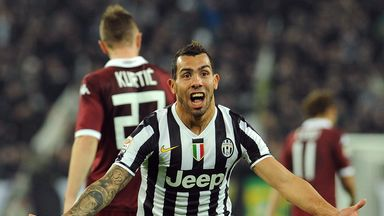 Carlos Tevez: Happy in Italy