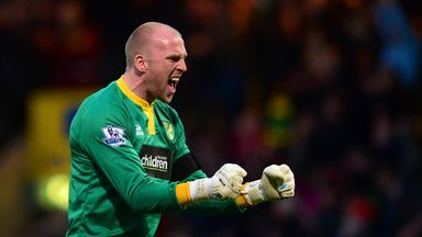 John Ruddy: Norwich City goalkeeper has been in impressive form