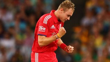 Stuart Broad will lead England's bid for World T20 glory