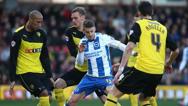 Andrea Orlandi: Free agent following his release by Brighton