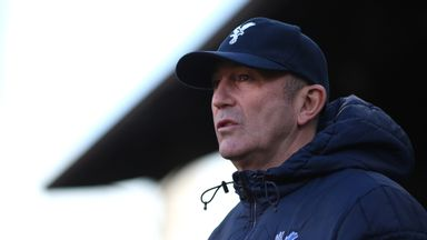 Tony Pulis: Crystal Palace boss preparing for clash with Newcastle