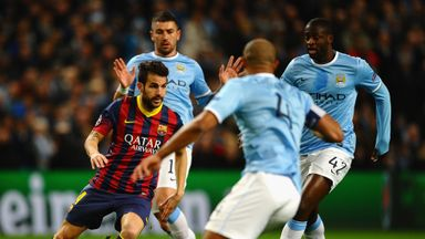 Cesc Fabregas: Proud of Barcelona's win over Manchester City