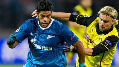 Hulk: Denies claim he wants to join Borussia Dortmund