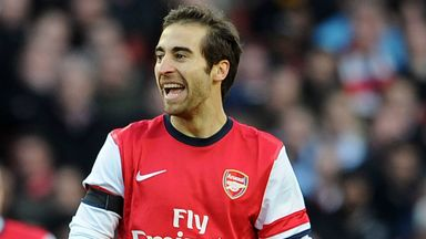 Mathieu Flamini: Arsenal midfielder has set his sights on silverware