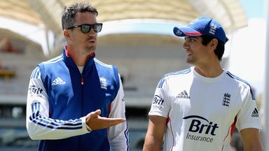 Kevin Pietersen (left) and Alastair Cook: Part of England side beaten 5-0 on Ashes tour