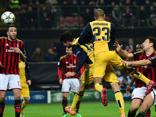 Diego Costa heads home Atletico's winner