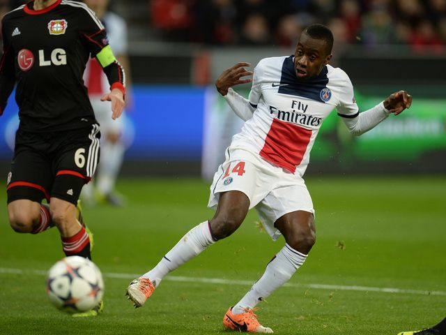 Blaise Matuidi made his mark early on in the game