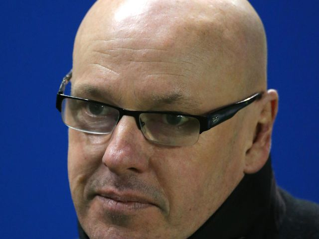 Brian McDermott: Watched his side lose to Doncaster