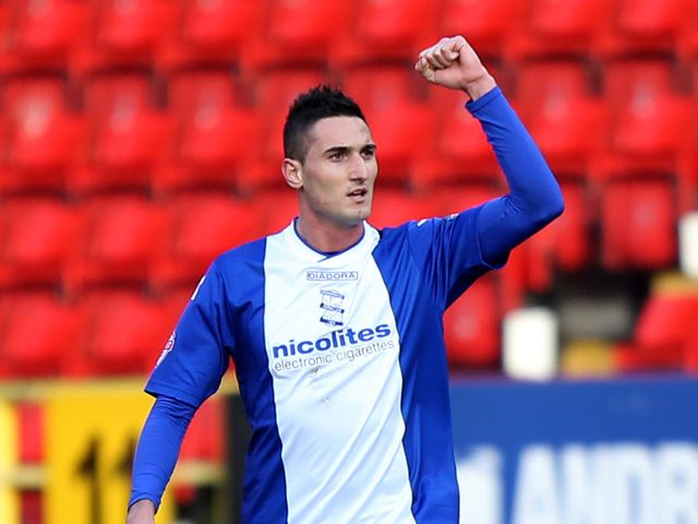 Federico Macheda: Netted twice in victory at Doncaster