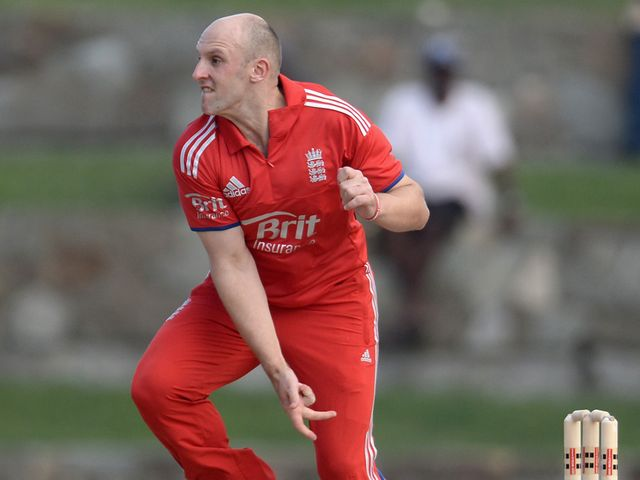 Tredwell: Took three wickets for England