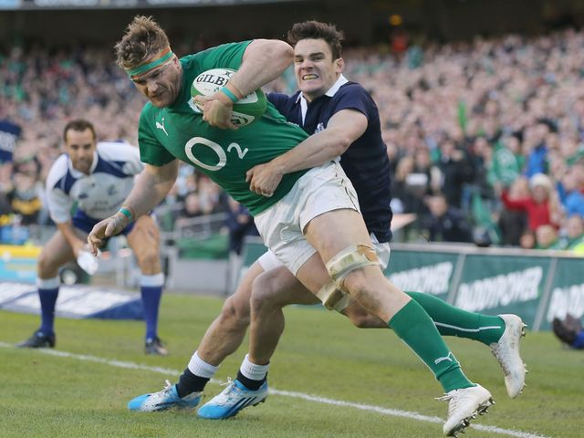 Jamie Heaslip: Improvements will be needed against Wales