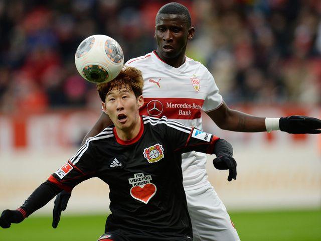 Heung Min Son holds off Antonio Ruediger