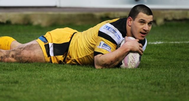 Justin Carney: Scored a hat-trick of tries for Castleford Tigers