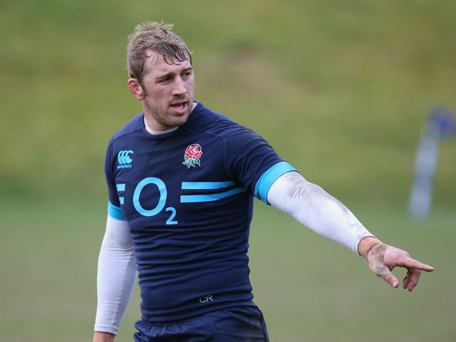 Chris Robshaw: Faces a major challenge on Saturday