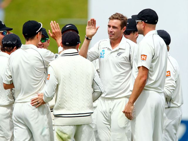 Tim Southee: Three wickets on the final day