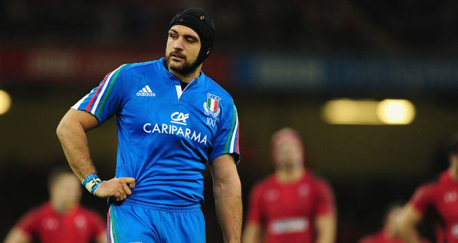 Marco Bortolami: Lock will captain Italy in Dublin