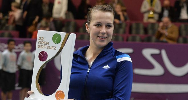 Anastasia Pavlyuchenkova: Landed her sixth career WTA title in Paris