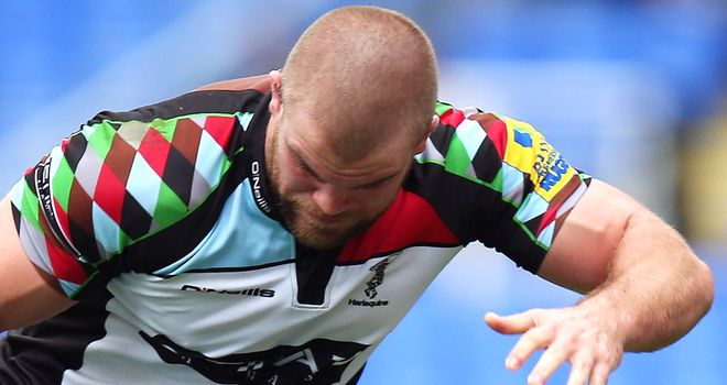 Rob Buchanan: One of a half-dozen to sign new Quins deals