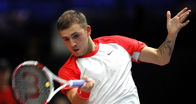 Dan Evans: Lost first round match in Marseille