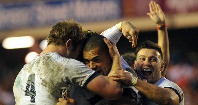 Luther Burrell: The centre scored England's first-half try