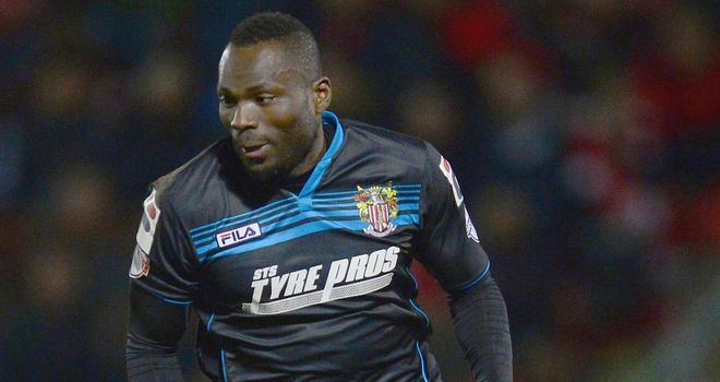 Francois Zoko: Came close early on