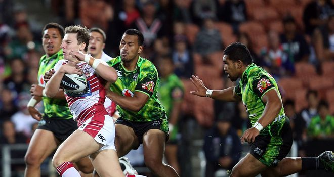 George Williams: New four-year deal with Wigan Warriors
