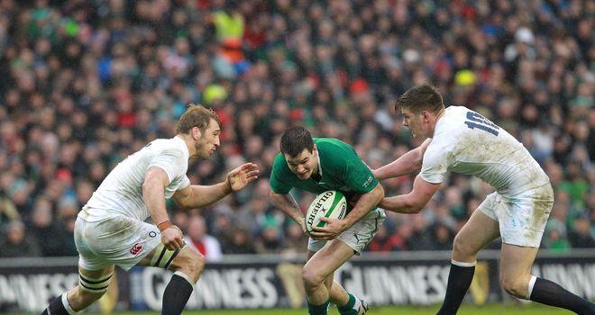 Jonny Sexton: powering through England
