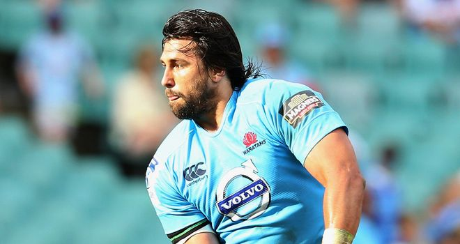 Jacques Potgieter: Starts for Waratahs