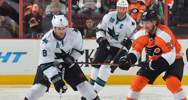 Joe Pavelski: Scored a hat-trick for the Sharks