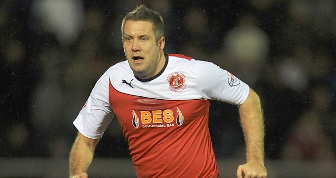 Jon Parkin: Rescued a point for Fleetwood