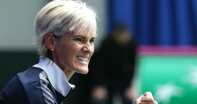 Judy Murray: Is looking to develop the ladies games at grassroots level in Britain