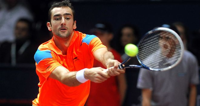 Marin Cilic: Croat remains on course for back-to-back tournament wins