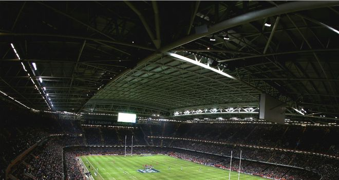 Millennium Stadium: the home of Welsh rugby