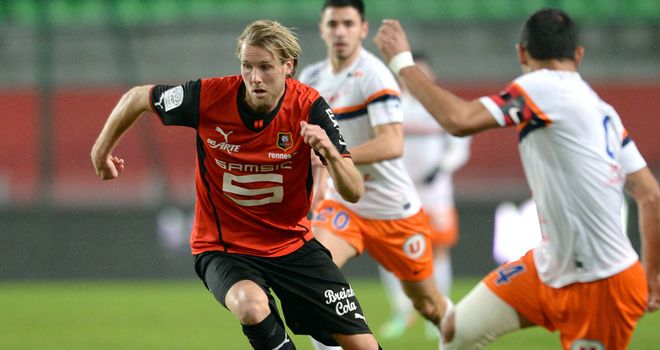 Ola Toivonen: On target for Rennes