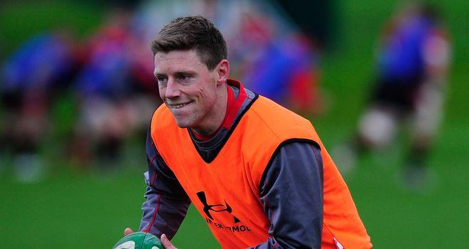 Rhys Priestland: Scarlets fly-half an injury concern for Wales
