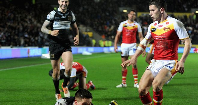 Tom Lineham: Is set to make his Hull FC return after an ankle injury
