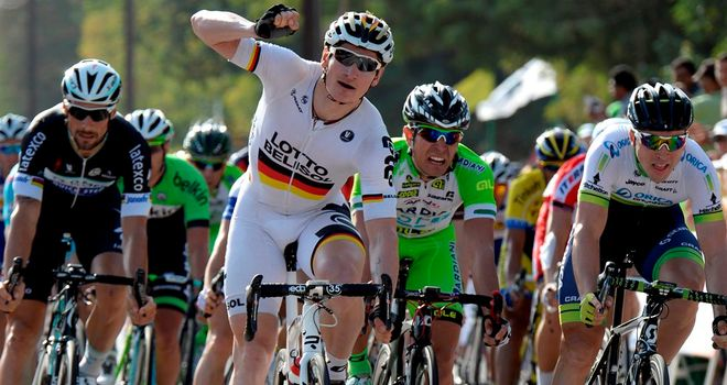 Andre Greipel claimed his fourth win of the season