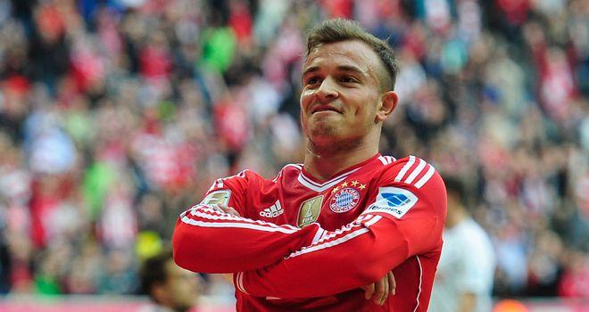 Xherdan Shaqiri: Tied to a contract at the Allianz Arena