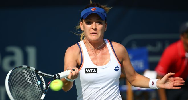 Agnieszka Radwanska: Was a casualty in the second round in Dubai
