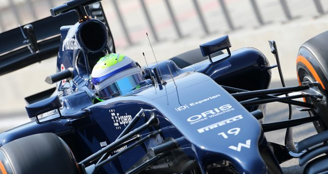 Felipe Massa: Only five laps on Day One