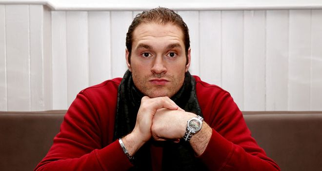 Tyson Fury: Has not fought since last April